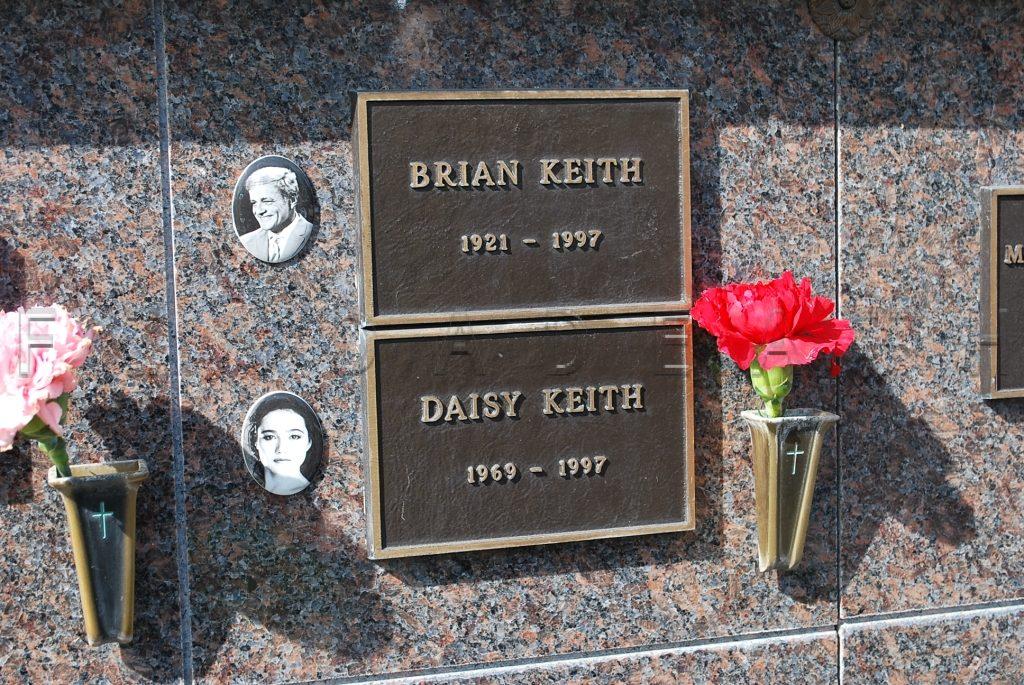 Brian Keith's Grave In Westwood Memorial Park