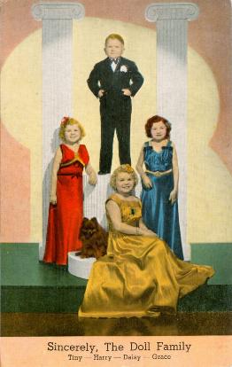 Doll Family Midgets