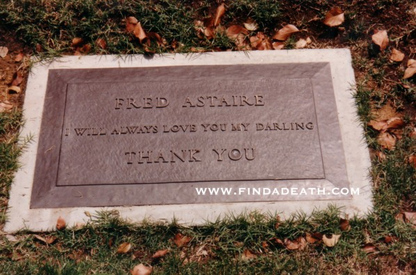 Fred Astaire Celebrity Deaths Find A Death