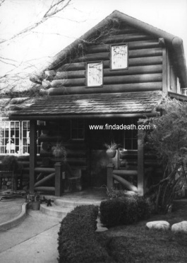 James Dean Log Cabin Home