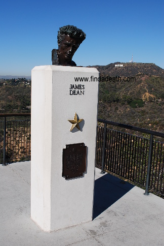 Bust of James Dean