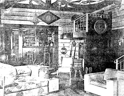 Interior of James Dean's House