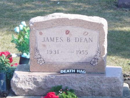 James Dean's Tombstone
