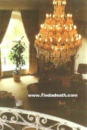 Jayne Mansfield House Interior