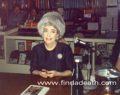 Joan Crawford Find A Death