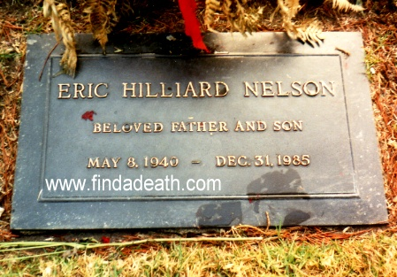 Eric Quot Ricky Quot Hilliard Nelson Celebrity Deaths Find A Death