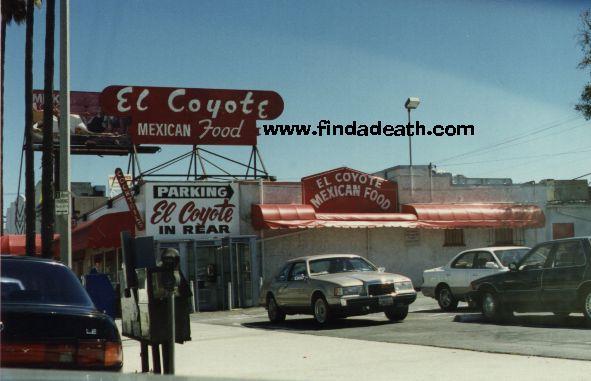 El Coyote Mexican Restaurant
