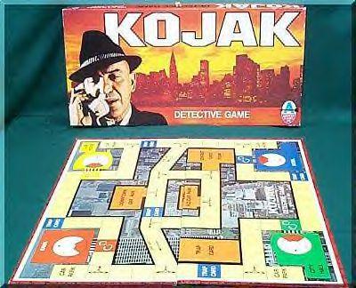 Kojak Board Game