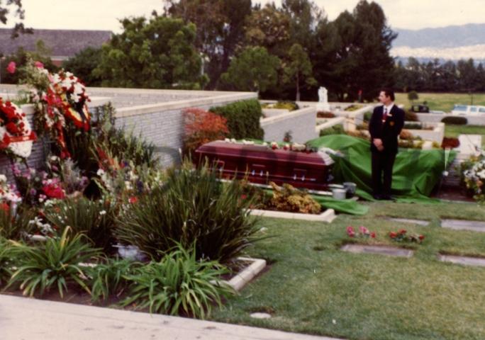 Telly Savalas' Funeral