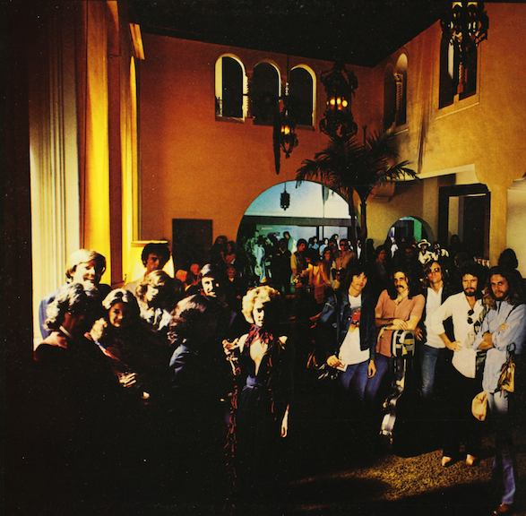 Interior of The Lido - Hotel California