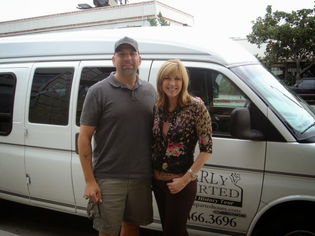 Scott Michaels and Leeza Gibbons